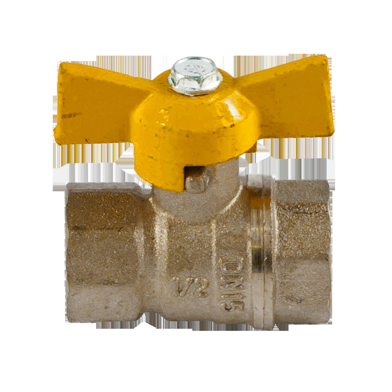 Шаровые газовые краны 11Б27П Ду-15